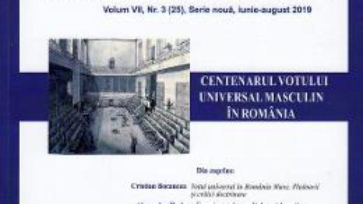 Cartea Polis Vol.7 Nr.3 (25). Serie noua. Iunie-august 2019. Revista de stiinte politice (download, pret, reducere)