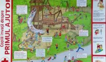 Cartea Plansa. Copiii invata despre primul ajutor (download, pret, reducere)