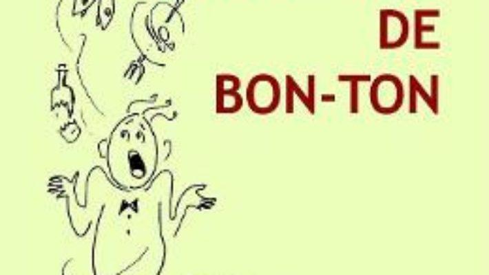 Cartea Disonante de bon-ton – Veronica Pavel Lerner (download, pret, reducere)