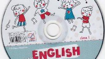 Cartea CD Learn English with Music – Clasa 1 – Elena Sticlea (download, pret, reducere)