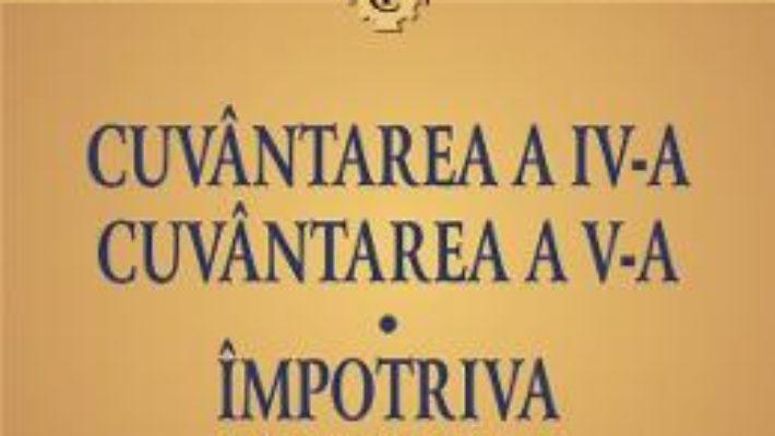 Cartea Cuvantarea 5 si 6. Impotriva lui Iulian – Grigorie de Nazianz, Chiril al Alexandriei (download, pret, reducere)