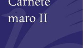 Cartea Carnete maro 2 – Aurel Dumitrascu (download, pret, reducere)