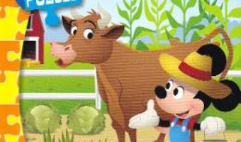 Cartea Disney Baby. Mini puzzle – La ferma (download, pret, reducere)
