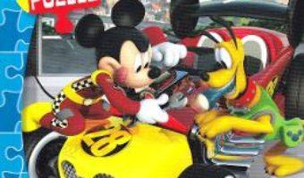 Cartea Disney Junior. Mini puzzle: Mickey si pilotii de curse – La start (download, pret, reducere)