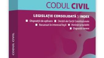 Cartea Codul civil. Ianuarie 2020 – Dan Lupascu (download, pret, reducere)