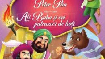 Cartea Cei trei purcelusi. Peter Pan. Ali Baba si cei patruzeci de hoti (download, pret, reducere)