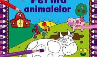 Cartea Coloreaza dupa numere. Ferma animalelor (download, pret, reducere)