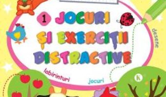 Cartea Jocuri si exercitii distractive 1. Fise de lucru (download, pret, reducere)