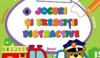 Cartea Jocuri si exercitii distractive 4. Fise de lucru (download, pret, reducere)