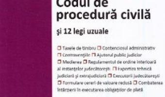 Cartea Codul de procedura civila si 12 legi uzuale Ed.2020 (download, pret, reducere)