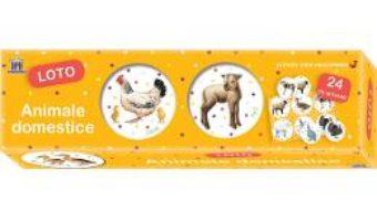 Cartea Animale domestice. Loto (download, pret, reducere)