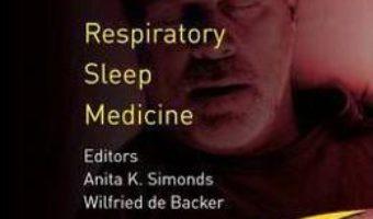 Cartea ERS Handbook of Respiratory Sleep Medicine – Wilfried de Backer (download, pret, reducere)