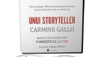 Cartea Audiobook. Secretul unui storyteller – Carmine Gallo (download, pret, reducere)
