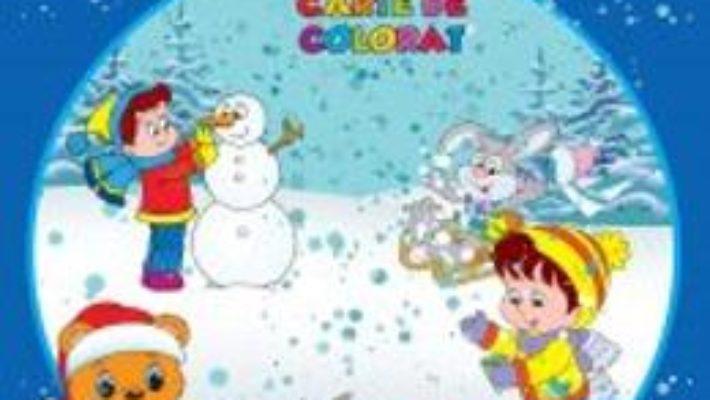 Pret Iarna – Jumbo carte de colorat pdf
