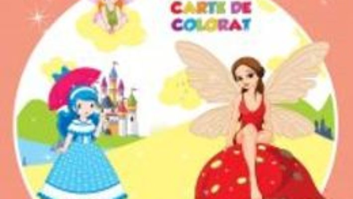 Pret Pentru noi, fetitele – Jumbo carte de colorat pdf