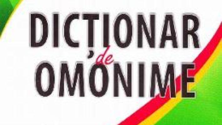 Pret Dictionar de omonime – Marius-Emil Dulgheru pdf