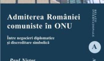 Pret Admiterea Romaniei Comuniste In Onu – Paul Nistor pdf