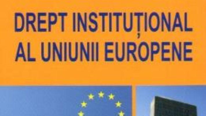 Pret Drept Institutional Al Uniunii Europene – Sean Van Raepenbusch pdf