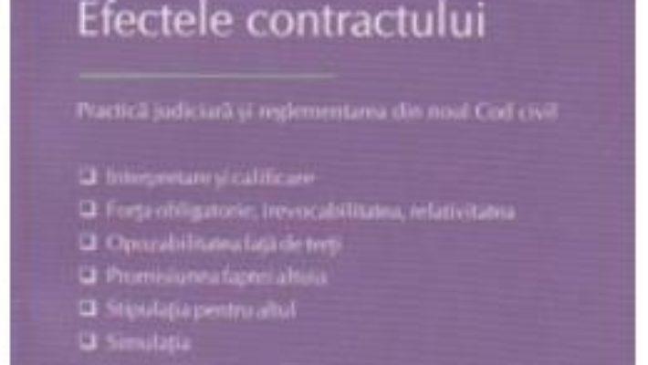 Pret Efectele Contractului – Ionica Ninu pdf