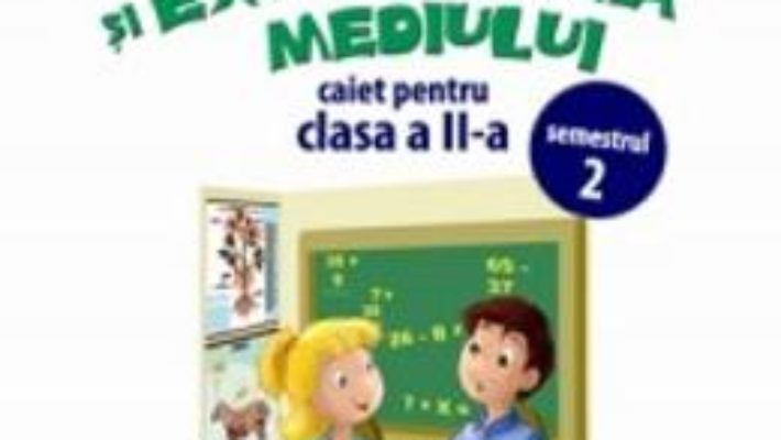 Pret Matematica si explorarea mediului clasa 2 caiet sem.2 – Anina Badescu, Mihaela-Ada Radu pdf