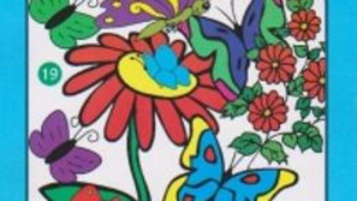 Cartea Fluturi – Bloc de colorat pdf