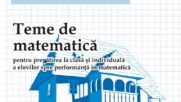 Cartea Teme De Matematica Cls 5 Sem.2 – Petrus Alexandrescu pdf