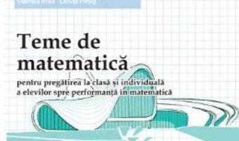 Cartea Teme de matematica clasa 7 Sem 2 – Petrus Alexandrescu (download, pret, reducere)