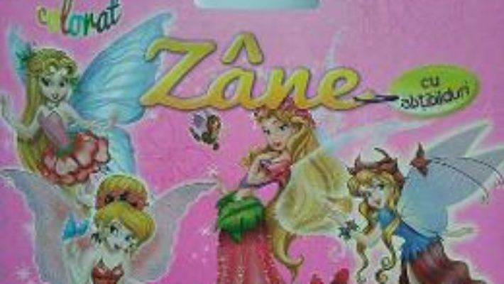 Cartea Zane – Bloc de colorat cu abtibilduri pdf