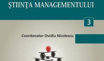 Cartea Minidictionar De Management 3: Stiinta Managementului – Ovidiu Nicolescu pdf