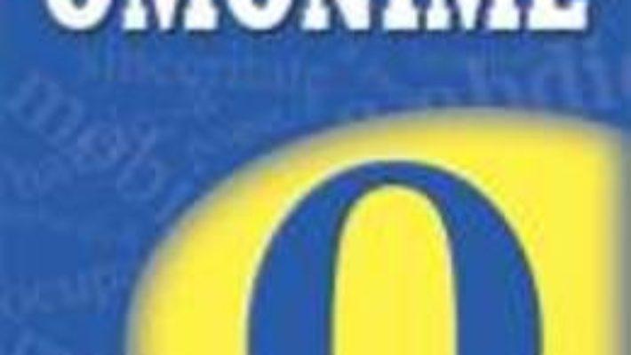 Cartea Dictionar De Omonime Si Cuvinte Polisemantice – Cristina Vasile pdf