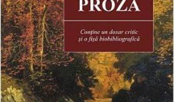 Cartea Proza Ed.2015 – Mihai Eminescu pdf