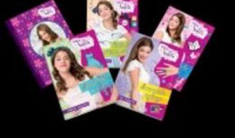 Cartea Pachet Disney Violetta. Dragostea, Calatoriile Si Secretele Violettei (5 Carti) pdf
