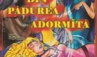 Cartea Frumoasa din padurea adormita dupa fratii Grimm – Carte de colorat A4 pdf