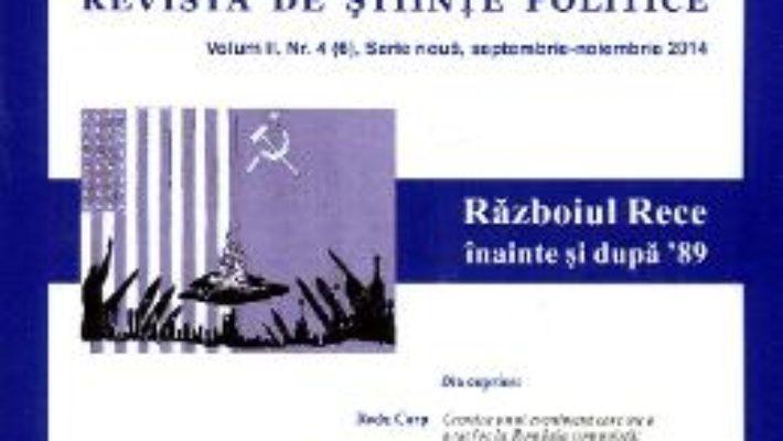 Cartea Polis Vol.2 Nr.4 SeptembriE-Noiembrie 2014 Revista De Stiinte Politice pdf