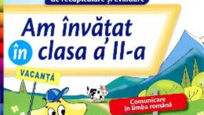 Cartea Am Invatat In Cls 2 Caiet – Daniela Barbu pdf