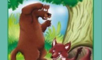 Cartea Ursul pacalit de vulpe – Ion Creanga (carte de colorat) (download, pret, reducere)