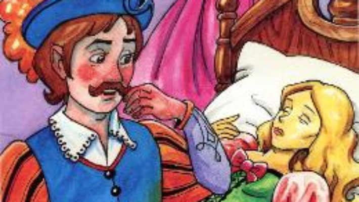 Cartea Frumoasa Adormita – Citim si coloram pdf