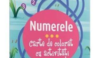 Cartea Numerele – Carte de colorat cu activitati (download, pret, reducere)