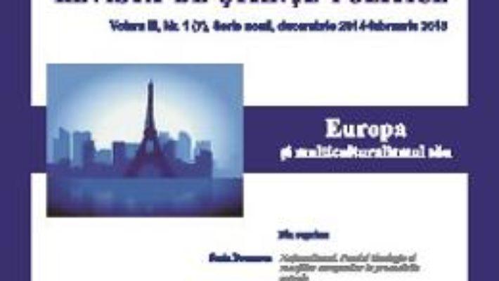 Cartea Polis Vol.3 Nr.1(7) Serie Noua Decembrie 2014-Februarie 2015 Revista De Stiinte Politice pdf