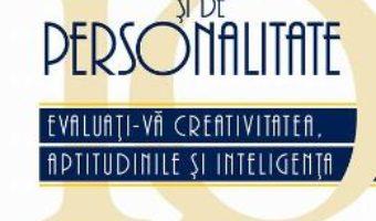 Cartea Teste Iq Si De Personalitate – Phlip Carter (download, pret, reducere)