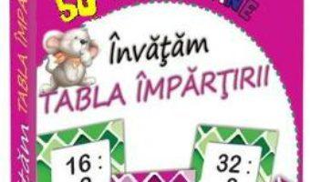 Cartea 50 de jetoane: Invatam Tabla impartirii (download, pret, reducere)