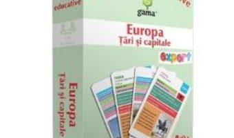 Cartea Europa: Tari si capitale – Carti de joc educative (download, pret, reducere)