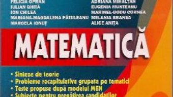 Cartea Bac Matematica M1 – Catalin-Petru Nicolescu (download, pret, reducere)