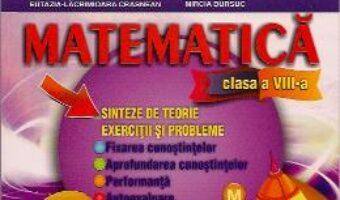 Carte Matematica Cls 8 – Sinteze De Teorie. Exercitii Si Probleme – Stefan Smarandache PDF Online