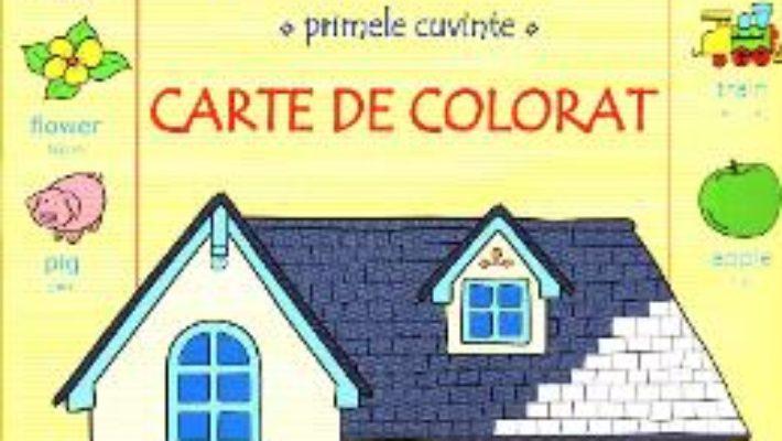 Cartea Limba engleza. Primele cuvinte. Carte de colorat (download, pret, reducere)