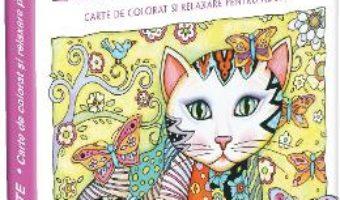 Pachet: Pisici fanteziste – carte de colorat si relaxare pentru adulti + Relaxare pentru incepatoare PDF (download, pret, reducere)