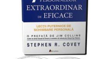 Cartea 2CD Cele 7 obisnuinte ale persoanelor extraordinar de eficace – Stephen R. Covey (download, pret, reducere)