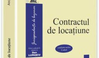 Contractul de locatiune – Andreea Tabacu PDF (download, pret, reducere)