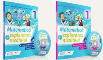 Pret Carte Matematica si explorarea mediului – Clasa 1. Partea I+II – Manual + CD – Iliana Dumitrescu, Nicoleta Ciobanu