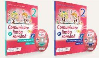 Pret Carte Set comunicare in limba romana – Clasa 2 – Partea I+partea II + CD – Iliana Dumitrescu, Nicoleta Ciobanu